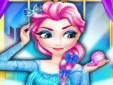 Maquiagem Elsa princesa