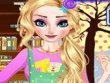 Vestir roupas da grávida Elsa