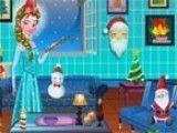 Decoração de natal da Frozen Elsa