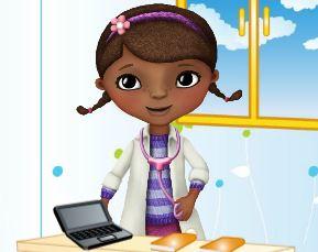 Decoração do consultório da Doutora Brinquedos