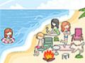 Decorar a festinha na praia