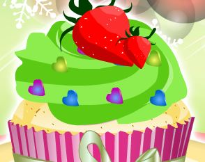 Decorar cupcakes de Natal
