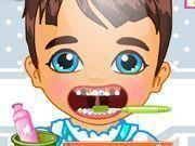 Dentista do príncipe bebê