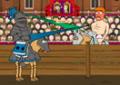 Derrotar seu inimigo com o cavalo