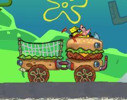 Dirigir carro hambúrguer do Bob Esponja