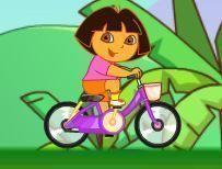 Dora aventuras de bicicleta