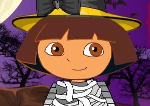 Dora fantasia de Halloween