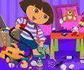 Dora limpeza do quarto