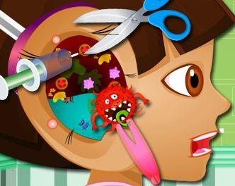 Dora médico do ouvido