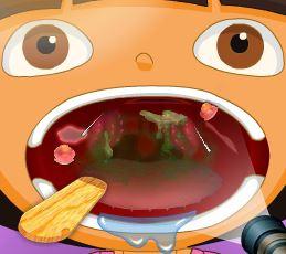 Dora problemas de garganta