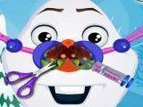 Olaf cuidados com nariz