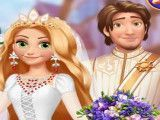 Rapunzel noiva moda medieval