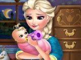 Elsa dia de babá