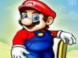 Mario corrida de esqui