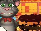 Tom virtual fazer bolo de halloween