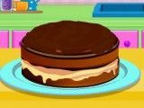 Torta gelada de chocolate preparar