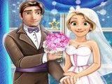 Princesa Rapunzel lua de mel