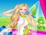Vestir Barbie cantora