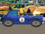 Bart dirigir carro