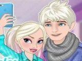 Casais Frozen selfie