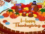Fazer e decorar bolo Ação de Graças