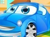Limpeza do carro das crianças