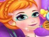 Anna Frozen curativos e maquiar