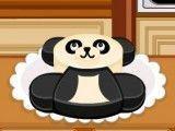 Bolo do panda culinária