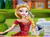 Princesa fazer coxa de frango assada