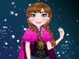 Frozen Anna cabeleireiro e maquiagem