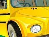 Limpeza do ônibus escolar