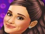Maquiagem da celebridade Ariana Grande