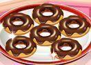Sara receita de donuts de chocolate