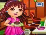Dora limpar cozinha