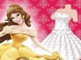 Costurar vestido da Bela