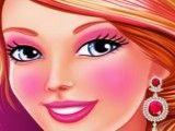 Barbie maquiagem no spa