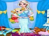 Elsa arrumar quaro do bebê