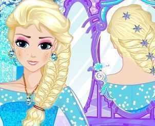 Elsa penteados