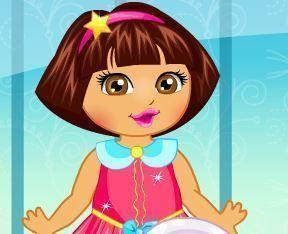 Escovar dentes da Dora