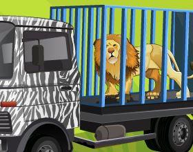Estacionar carro no zoológico