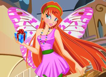 Estilo mágico fada Winx