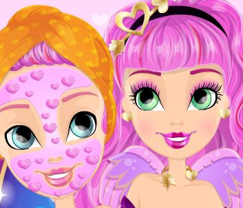Ever After High Cupid tratameto facial