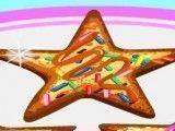 Fazer cookies açucarado de estrelas