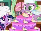 My Little Pony preparar receita de bolo