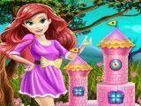 Bolo castelo da Ariel