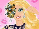 Maquiagem especial da Barbie