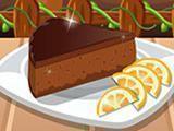 Fazer bolo de chocolate e laranja