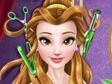 Princesa Bella no cabeleireiro