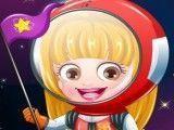 Bebê Hazel astronauta