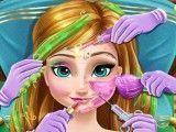 Anna princesa Frozen no spa